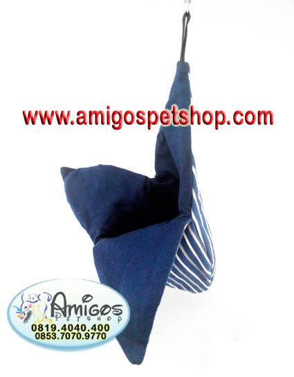 Amigos Petshop Makassar - Amigos Petshop Mksr - tempat tidur sugar glider Tas Sugar Glider poch bonding poch joey