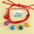 Hand Woven Dog Bell Collar