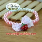 Pearl Pet Necklace Colar