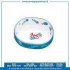 Tempat Makan Cristal Cat Bowl UR 93347
